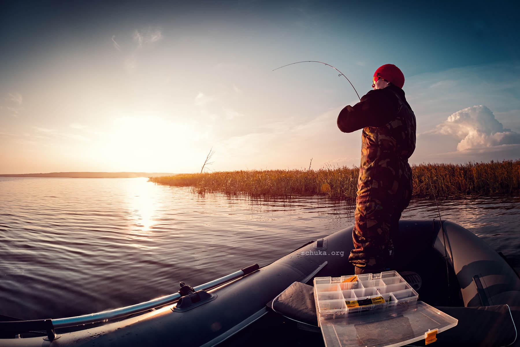 Рыбалка сплавом